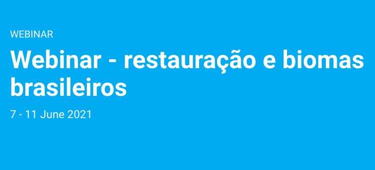 PNUMA impulsiona Década da Restauração no Brasil, no Dia Mundial do Meio Ambiente