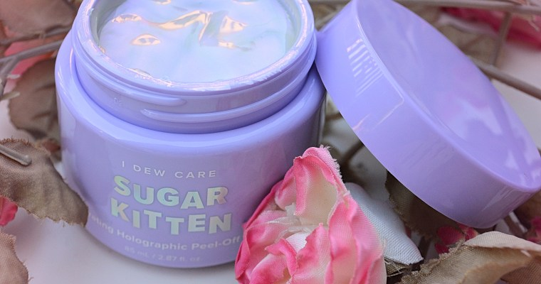 I Dew Care Sugar Kitten Holographic Peel-Off Mask Review