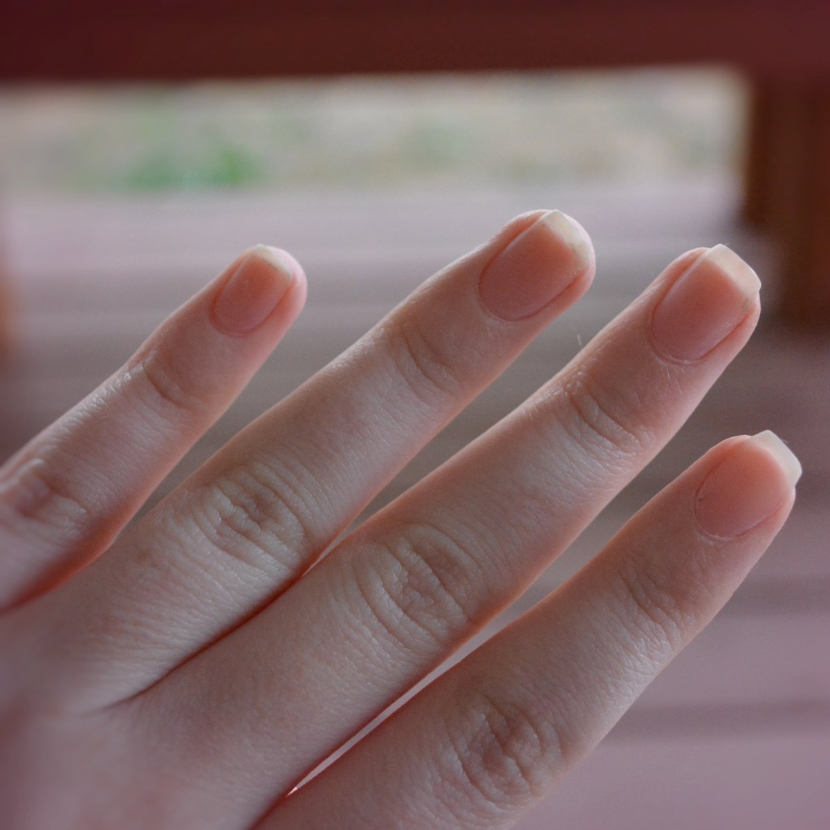 Dehydrate nails for gel polish