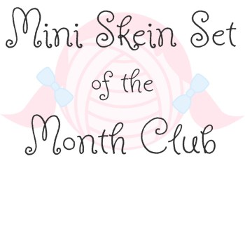Mini Skein Set Yarn Club