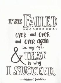 I've failed