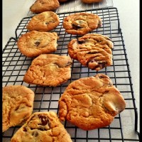 Sunday afternoon baking and my quest for the perfect cookie