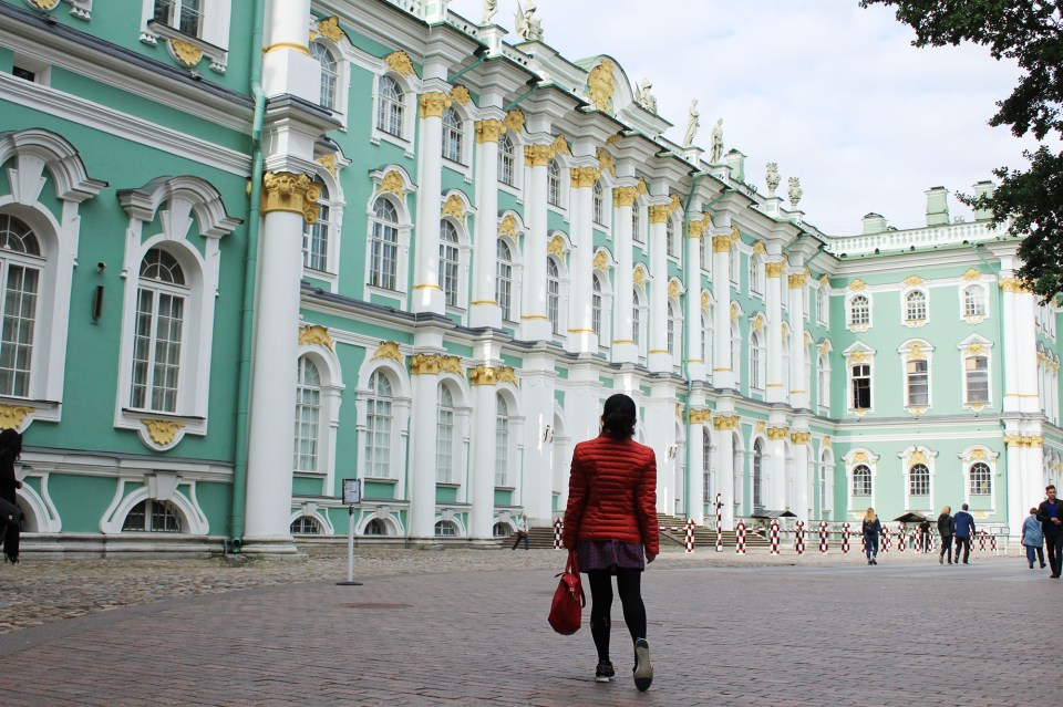 the winter palace russia