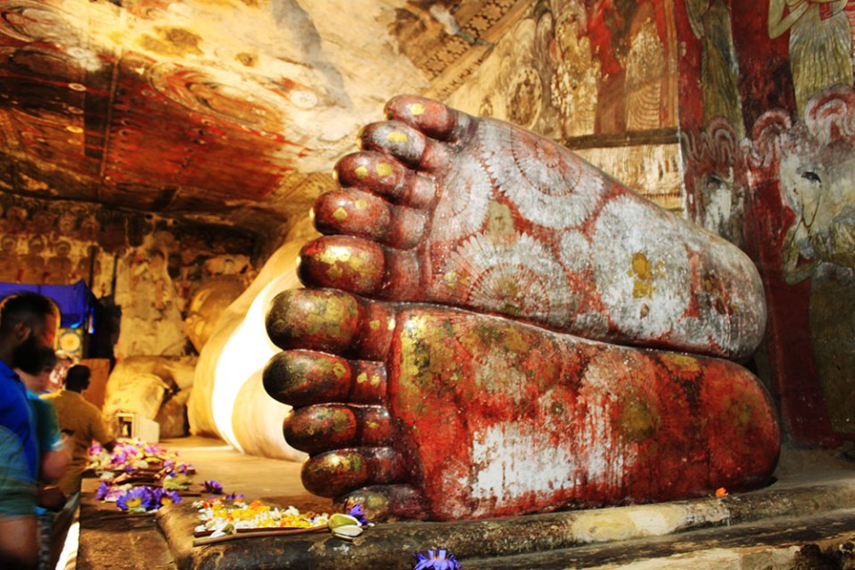 cave temple sri lanka lonely planet