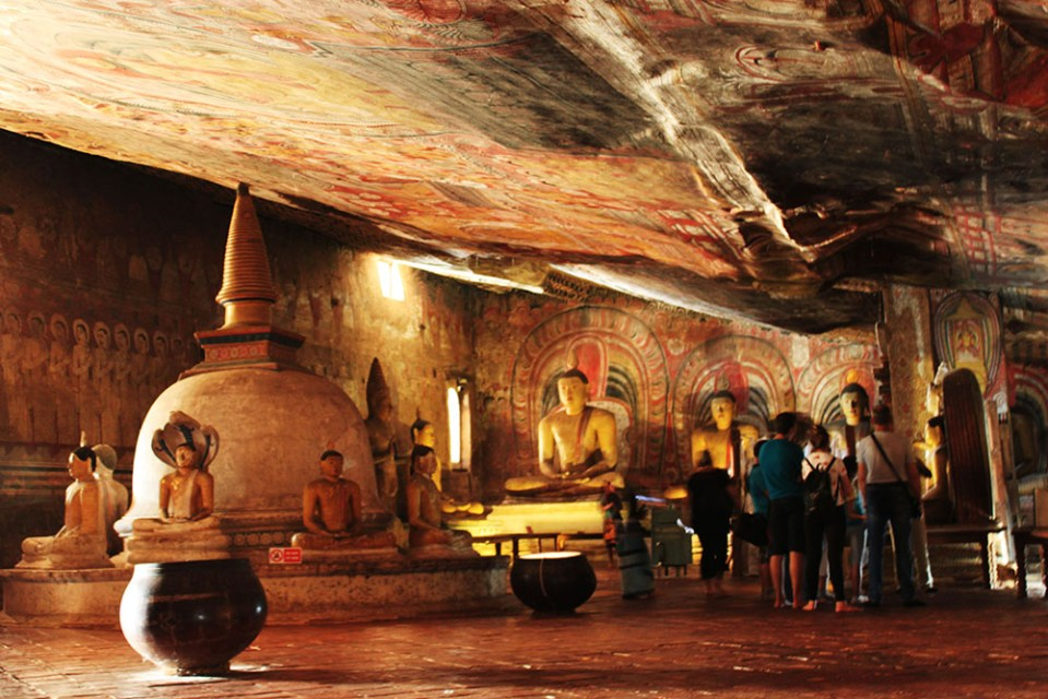 golden rock temple sri lanka lonely planet hottest destination 2019