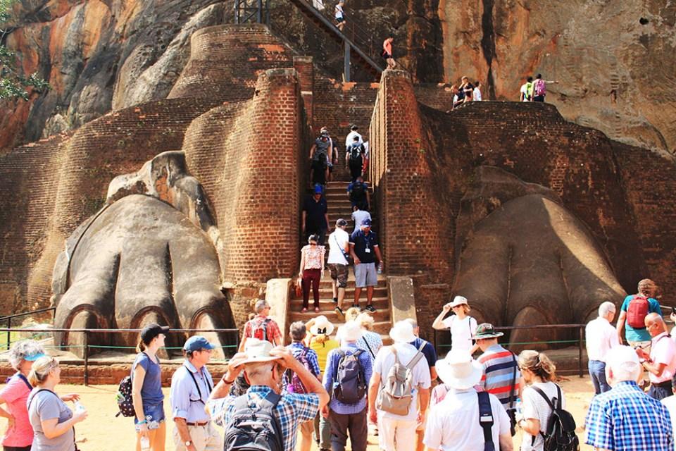 sri lanka sigiriya lion claws lonely planet hottest destination 2019