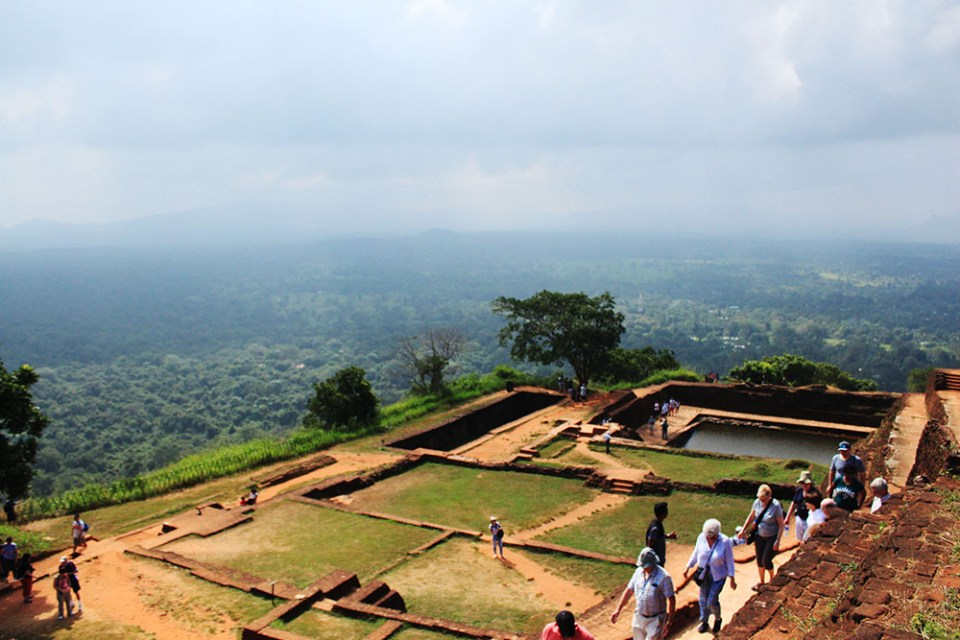 the top view from sigiriya sri lanka lonely planet hottest destination 2019