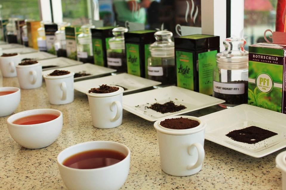 tea varieties at sri lanka tea factory lonely planet top destination