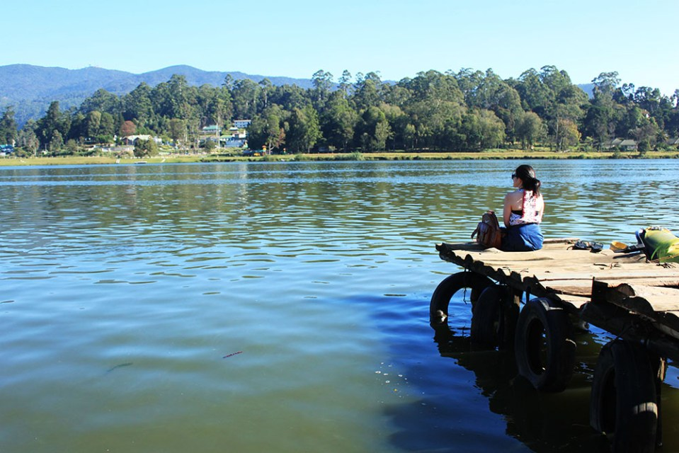 girl at gregory lake sri lanka lonely planet hottest destination 2019