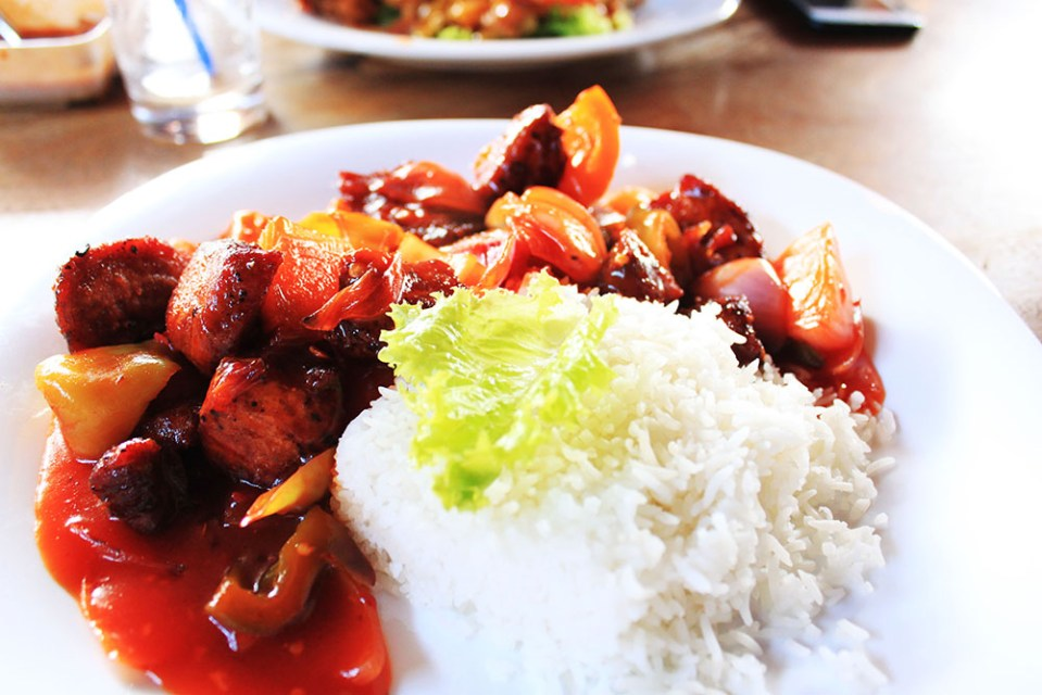 cafe chill devilled chicken sri lanka