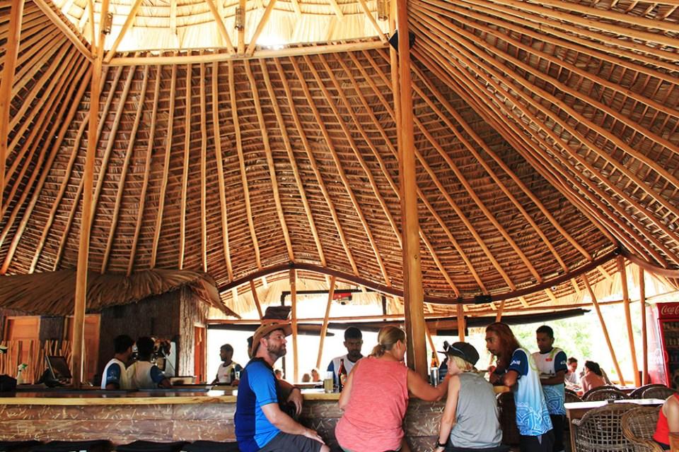 cafe chill upper floor wood interior design sri lanka