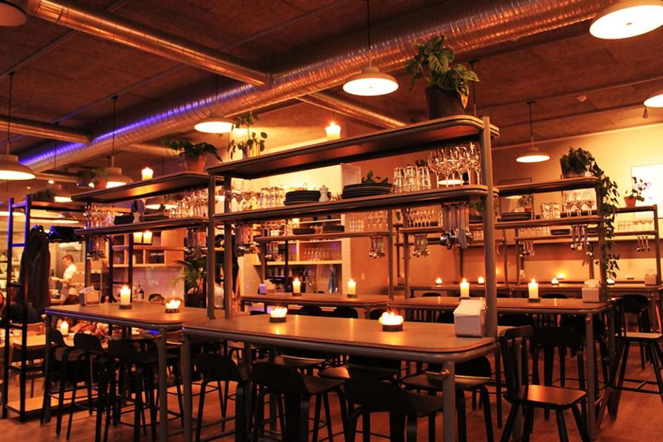 the art of hygge Restaurant Honey interior design for digital detox