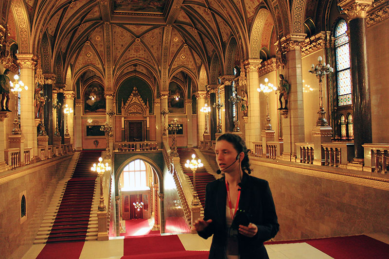 agirlnamedclara Hungarian Parliament Building tour with tour guide