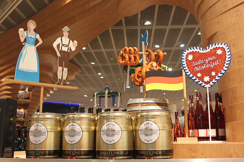 oktoberfest decoration airport beer germany agirlnamedclara