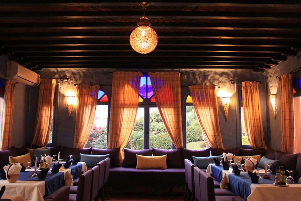 darechchaouen blue pearl chefchaouen morocco dining room interior design evening art_agirlnamedclara