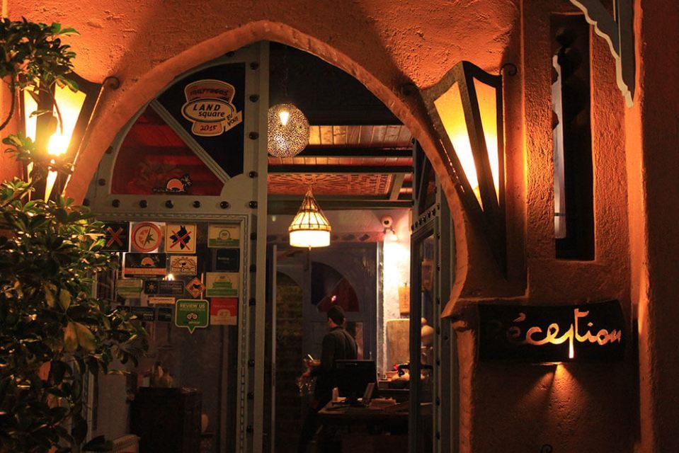 darechchaeouen chefchaouen morocco night view entrance_agirlnamedclara