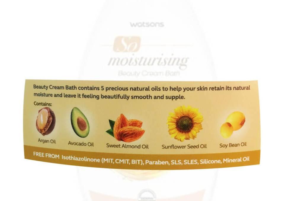 agirlnamedclara watsons so moisturising beauty cream bath ingredients