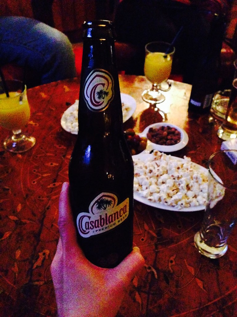 casablanca beer rick's cafe casablanca morocco popcorn peanut background agirlnamedclara
