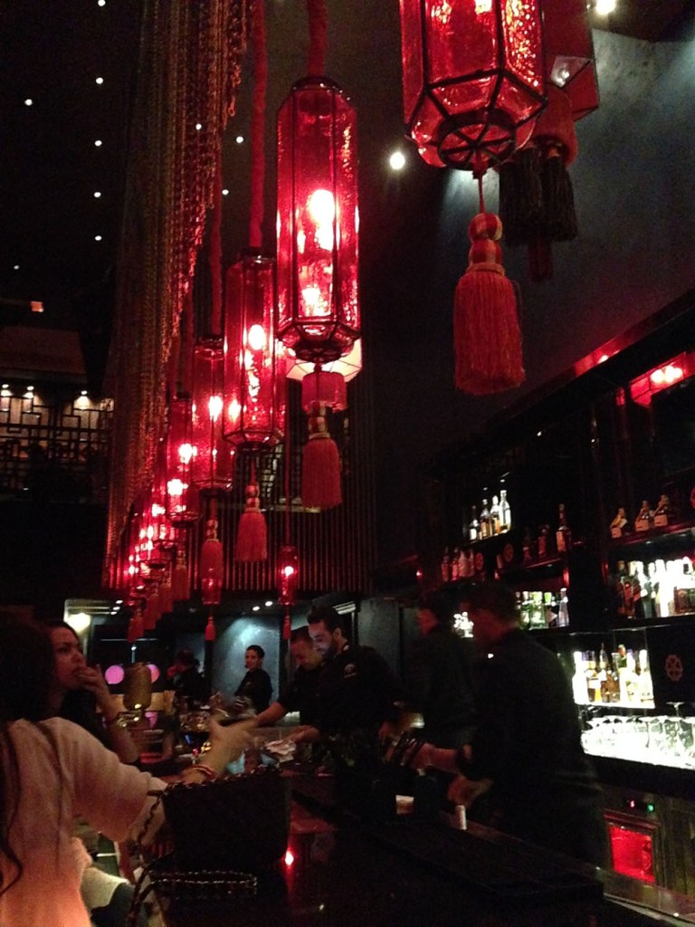 red long hanging lanterns bar buddha bar marrakech morocco agirlnamedclara