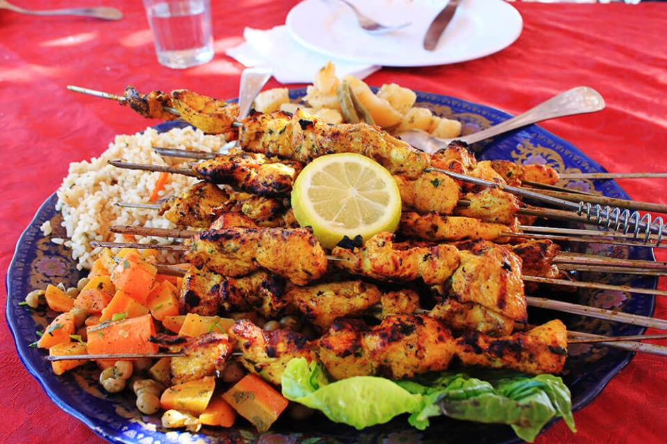 local food kebab morocco travel agirlnamedclara