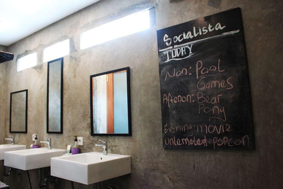 a guide to choosing hostel seminyak bali socialiste lifestyle hostel bathroom agirlnamedclara