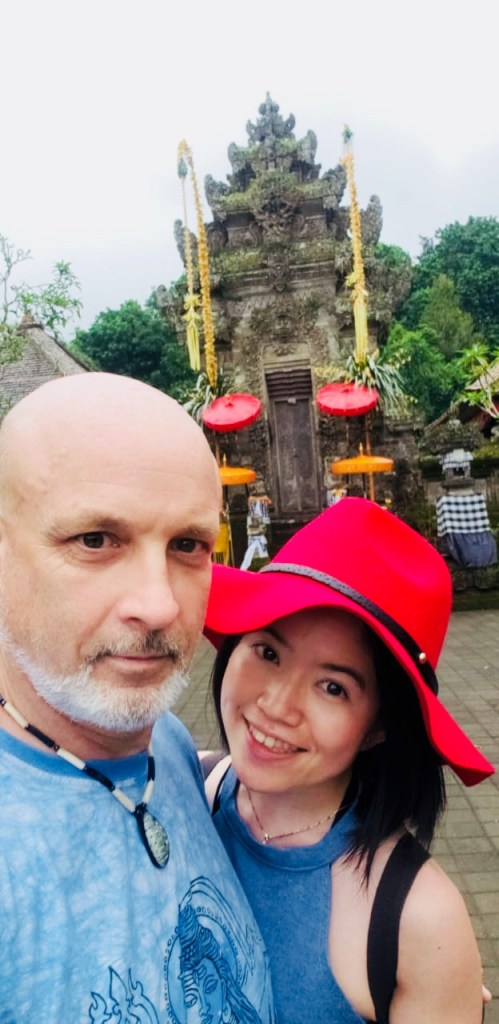 couple matching clothes age gap bali holiday penglipuran galungan agirlnamedclara