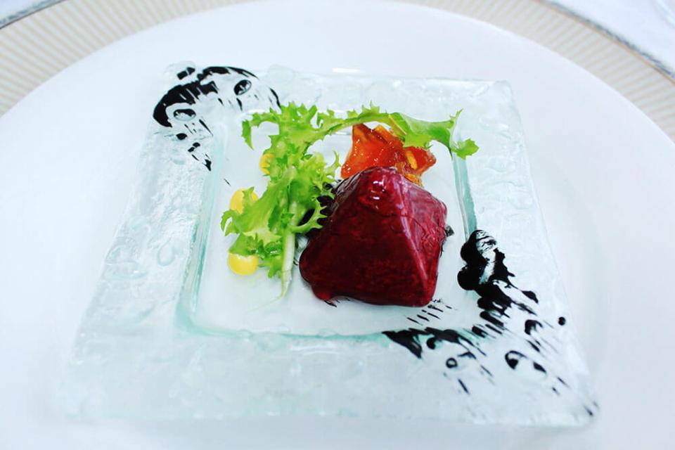 liver pâté appetizer Palkin St Petersburg fine dining restaurant Russia agirlnamedclara