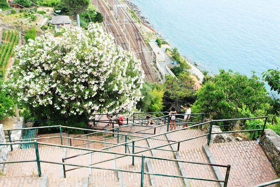 manarola cinque terre italy staircases agirlnamedclara