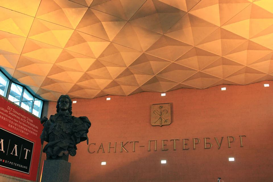 peter the great statue moskovsky railway station agirlnamedclara