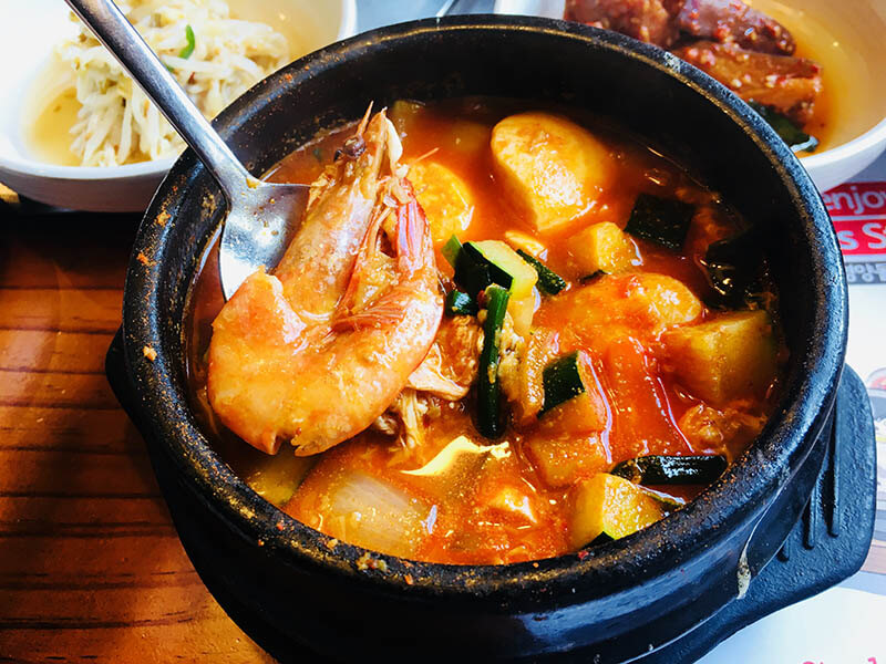 sundubu jijigae set lunch at qing he gu damansara uptown korean food_agirlnamedclara