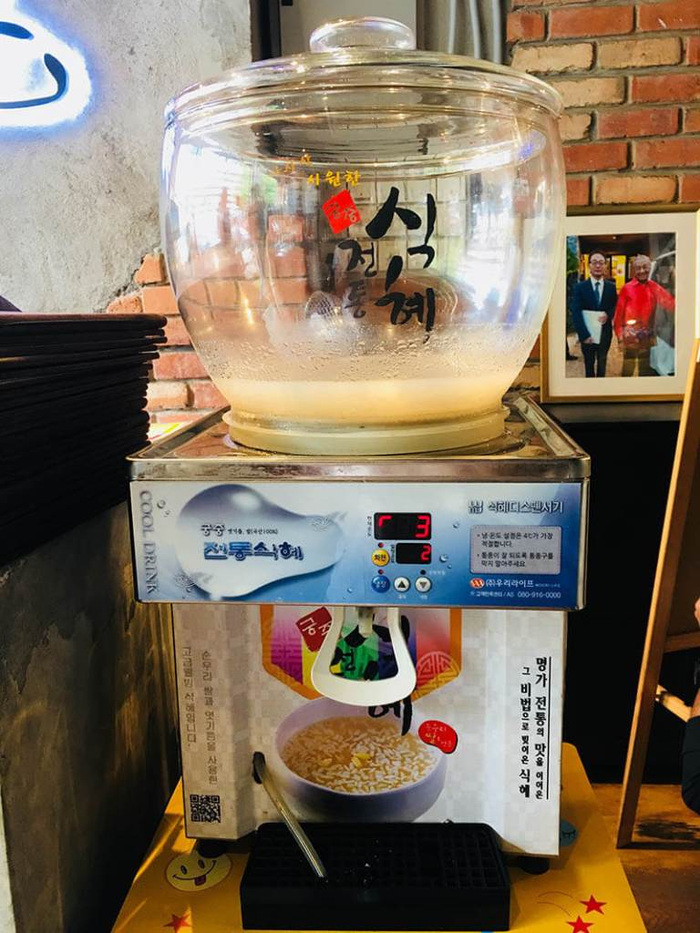 sweet iced rice water qing he gu korean food damansara uptown pj_agirlnamedclara