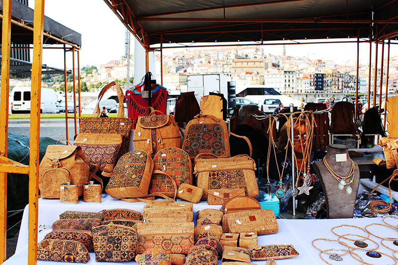 cork bag pouch souvenir porto portugal agirlnamedclara