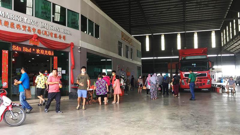 inside lps rice mill factory paddy gallery sekinchan cuti-cuti malaysia agirlnamedclara