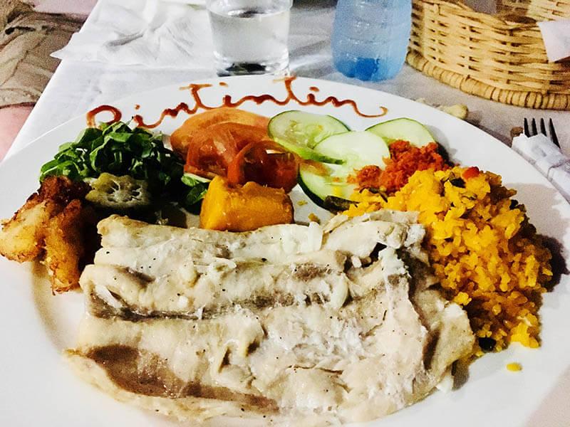 cuban dinner trinidad fish rice before clubbing la cueva disco ayala agirlnamedclara