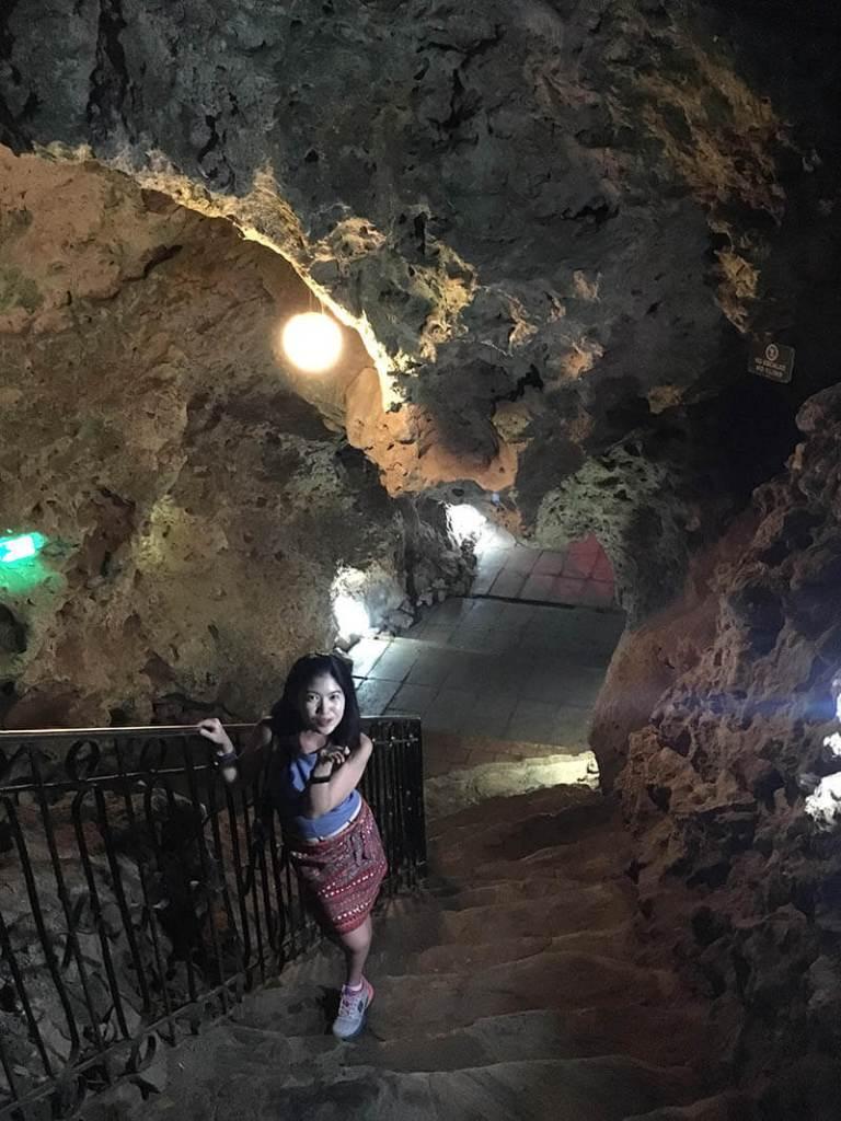 la cueva disco ayala natural cave salactite trinidad cuba asian girl blow a kiss agirlnamedclara