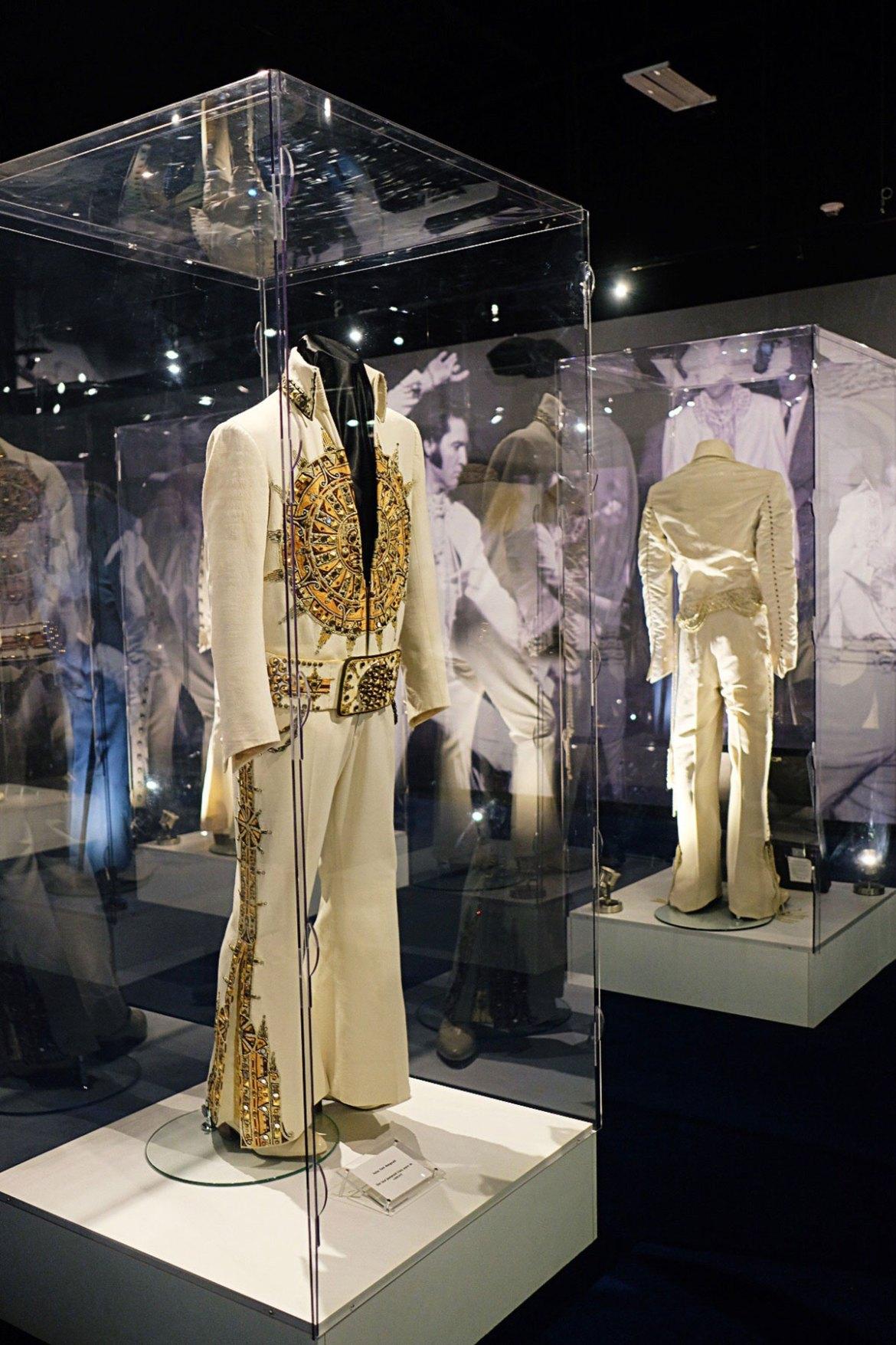 Elvis's jumpsuits at Graceland