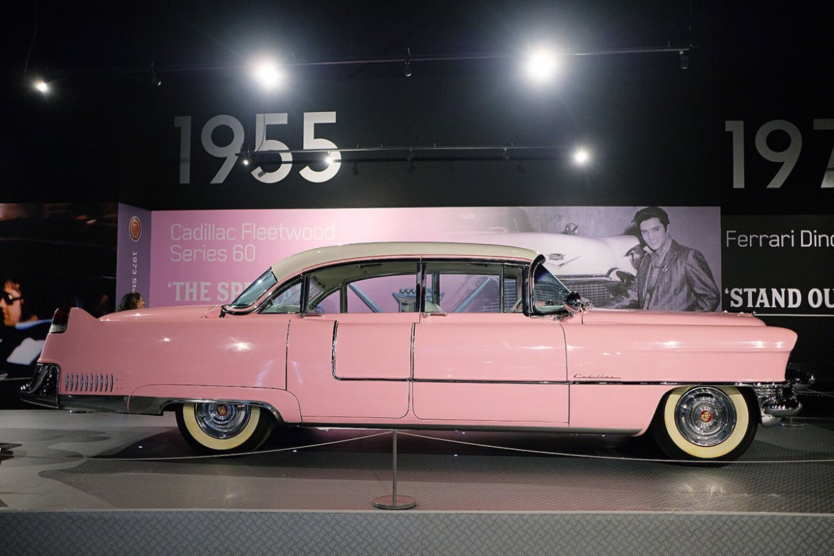 Elvis's famous Pink Cadillac