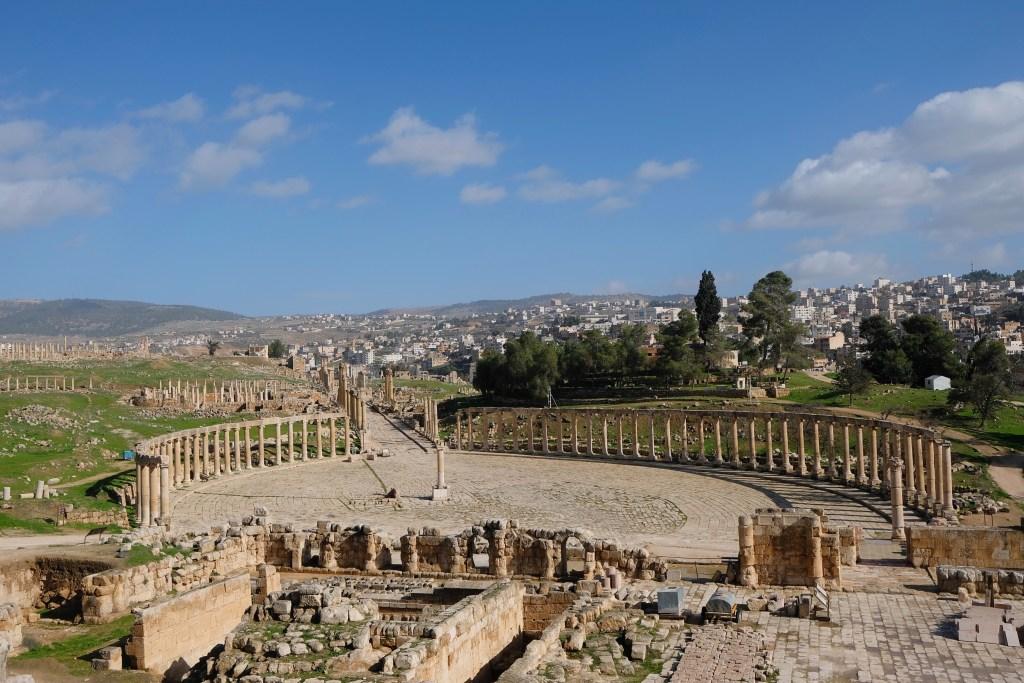 Forum, Jerash