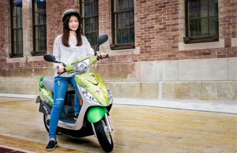 共享電動機車 WeMo Scooter 聯手『 幾米 』推出200臺限定繪本車