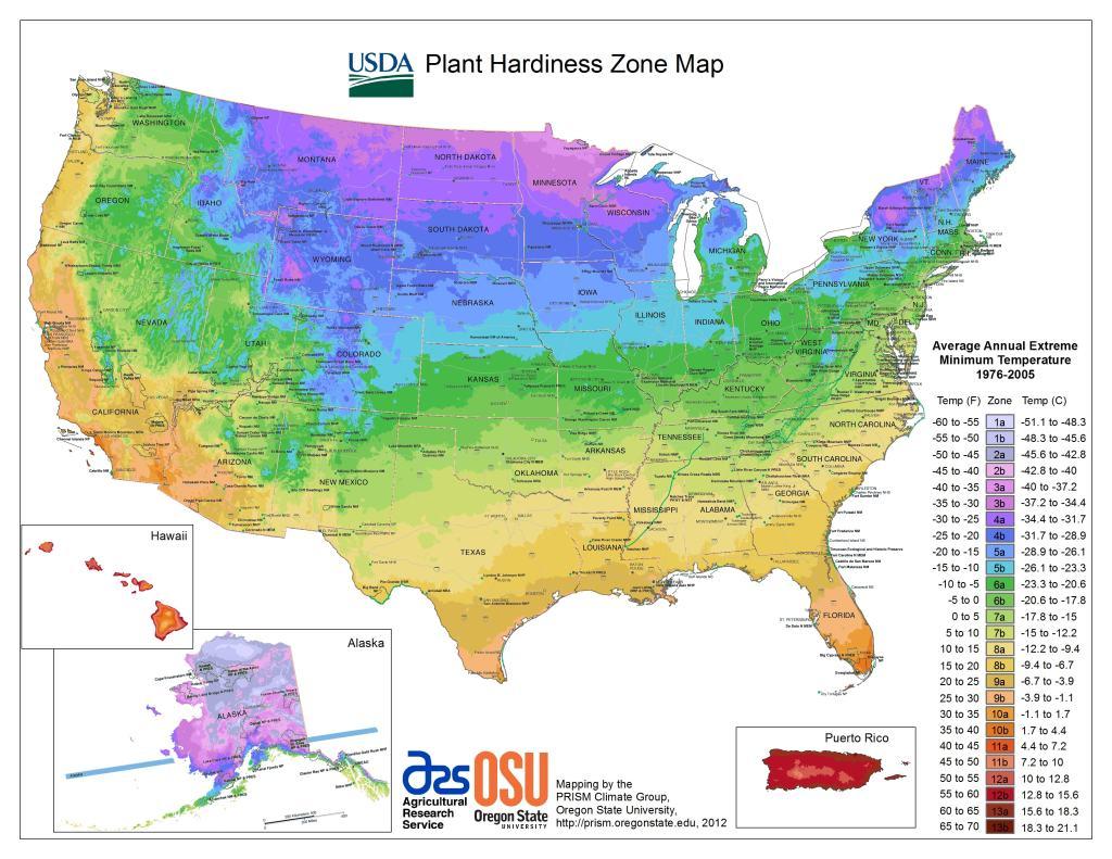 garden zone map