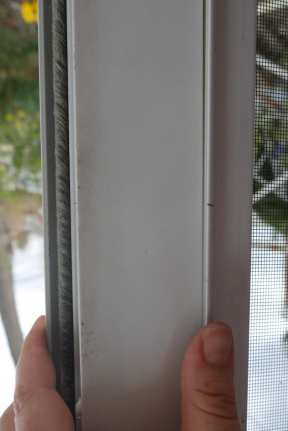 installing latch rails for storm door