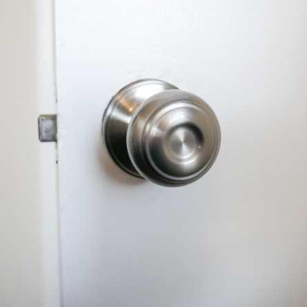 new doorknob installed
