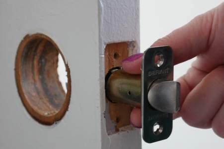 installing new latch