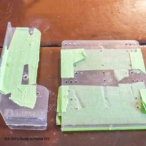 cabinet hardware templates