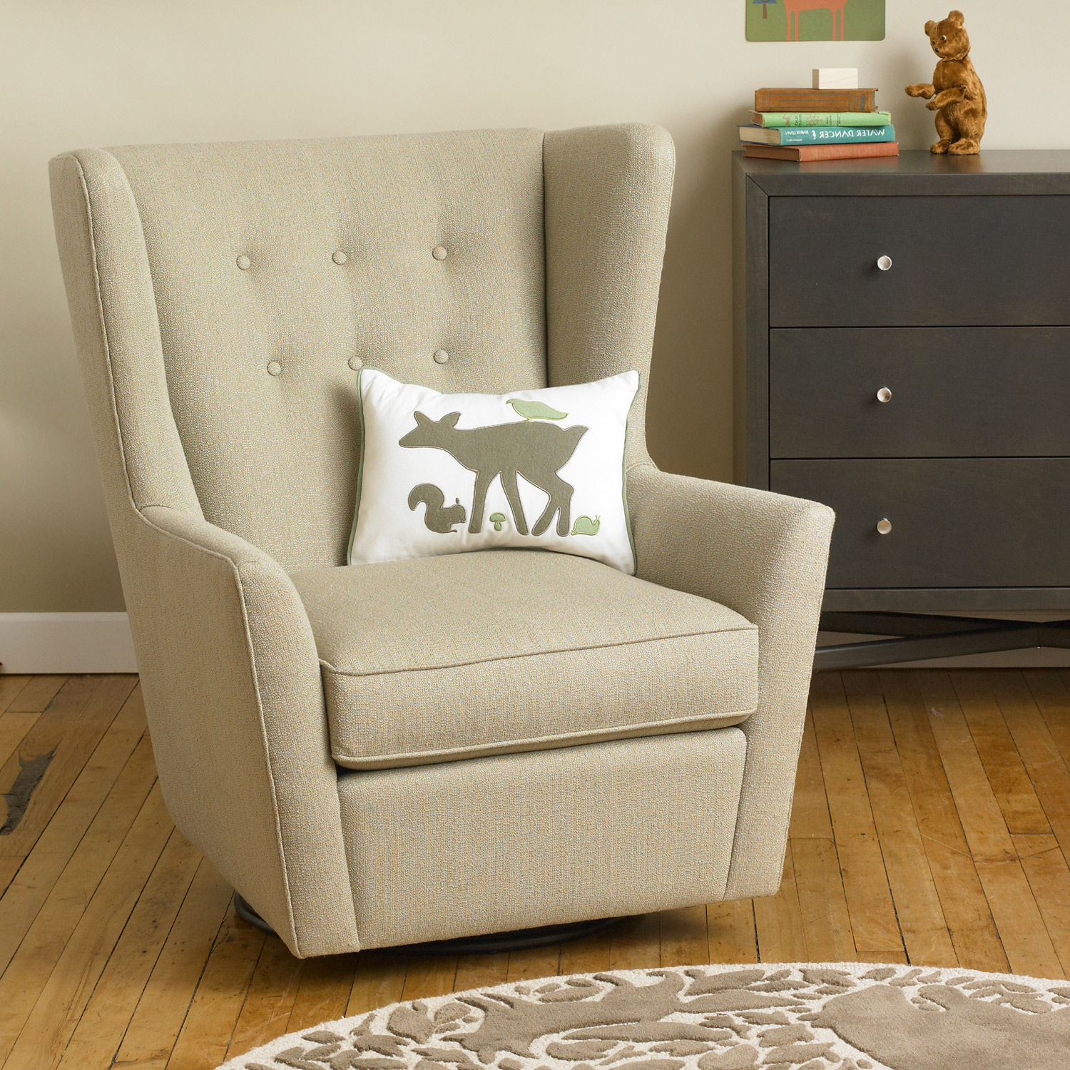 Upholstered Glider Chair Best Glider Rocker For Nursery Thenurseries