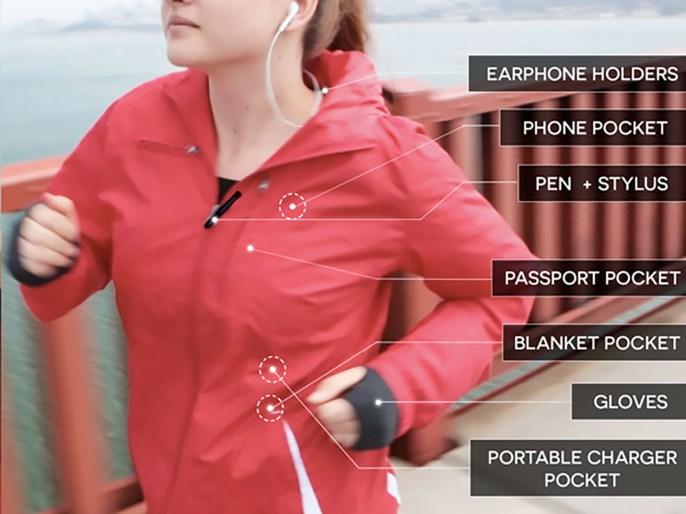 Baubax travel jacket