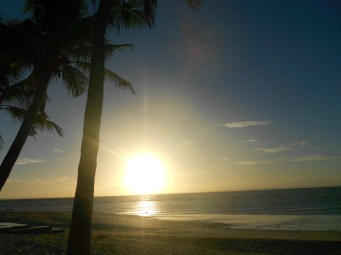 sunset at Kota beach, Bantayan
