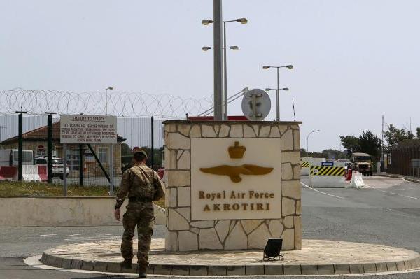 Κινητοποίηση στη βρετανική βάση στο Ακρωτήρι την Κυριακή 15 Απρίλη