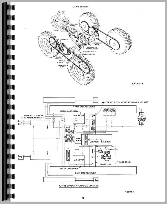 New Holland L555 Service Manual on