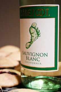 Barefoot Sauvignon Blanc Glass Work